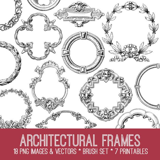 Architectural Frame Image Kit