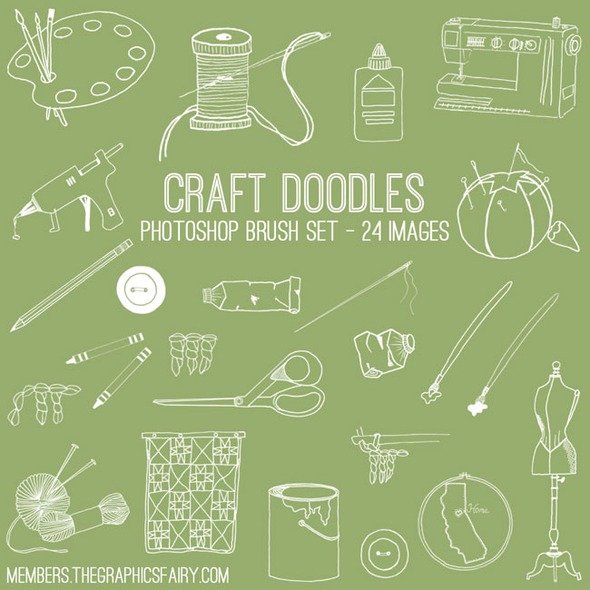 craft_doodles_brushes_graphicsfairy