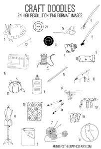 Craft Doodles Images