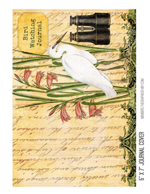journal_cover_egret_graphicsfairy