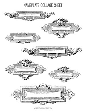 nameplate_collage_sheet_2_graphicsfairy