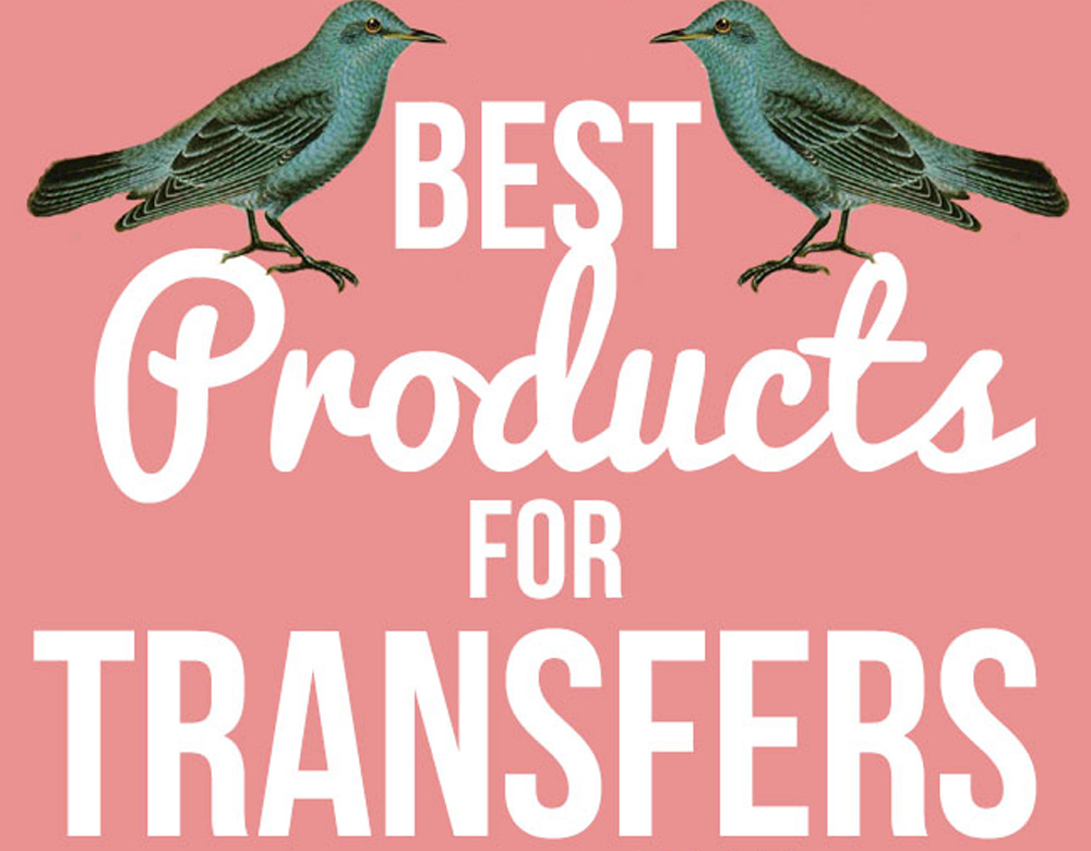 best products for image or photo transfers