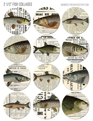 25_inch_fish_newspaper_collages_graphicsfairy