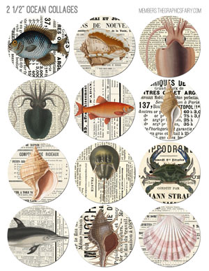 25_inch_ocean_newspaper_collages_graphicsfairy