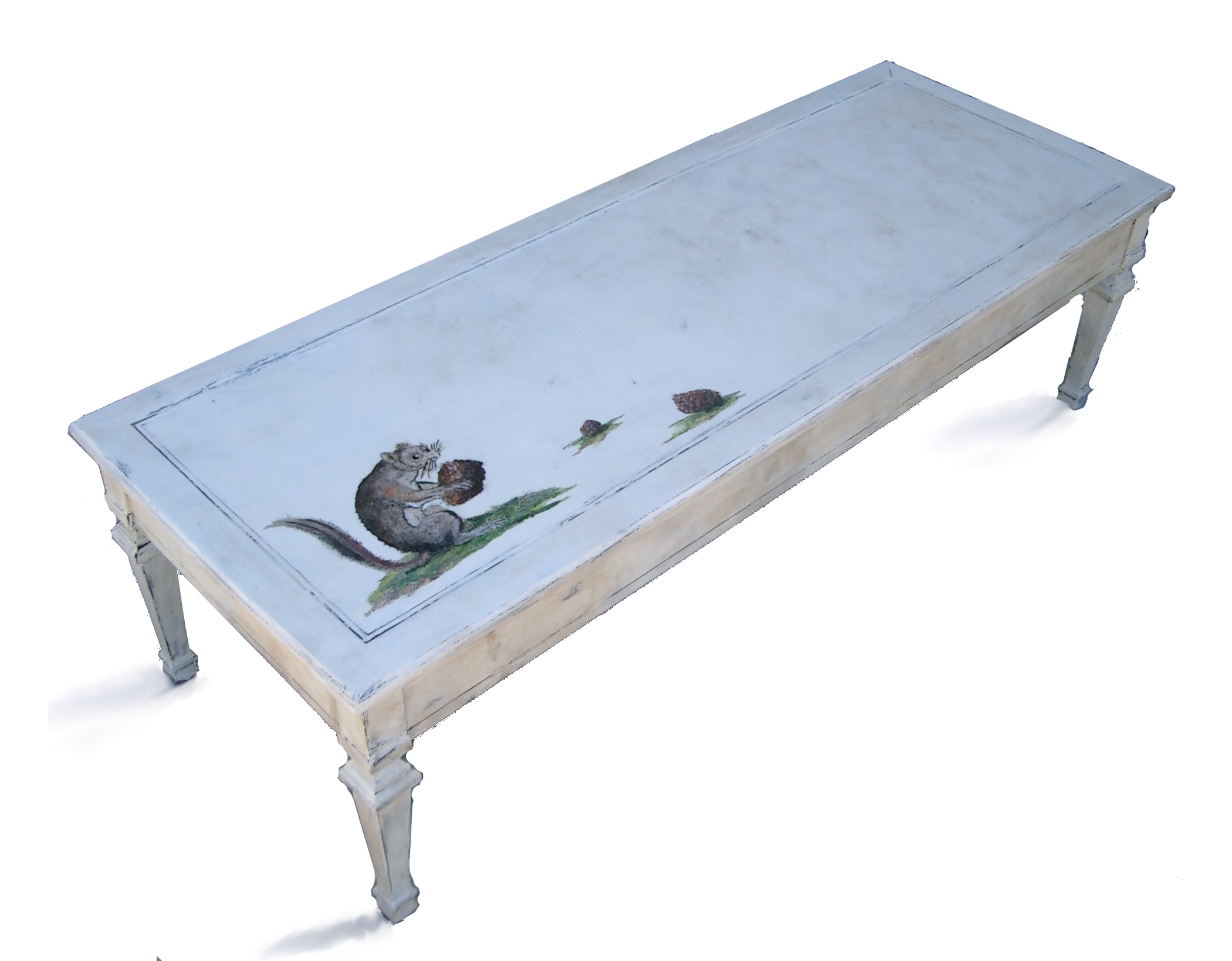 Cute vintage squirrel coffee table reader feature the for Cute coffee tables