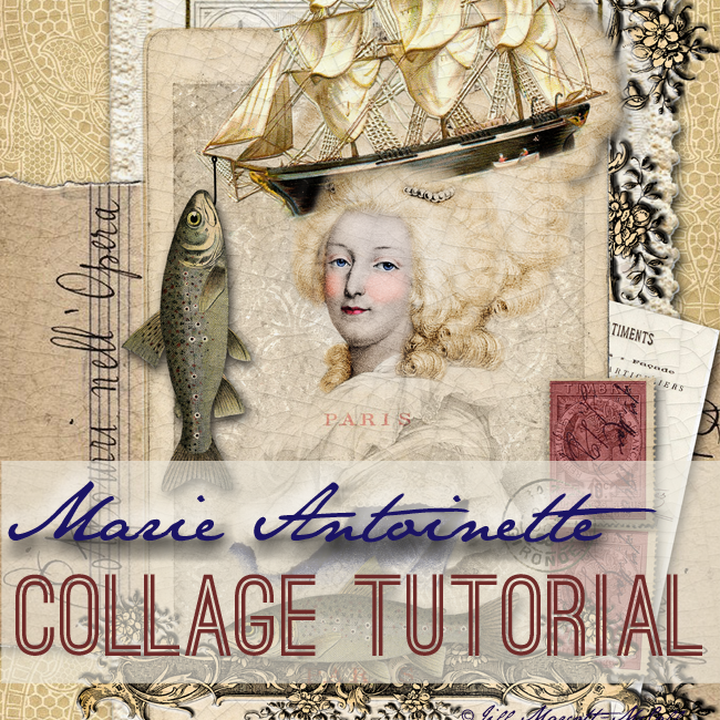 Marie-Antoinette-Collage-Tutorial-Cover