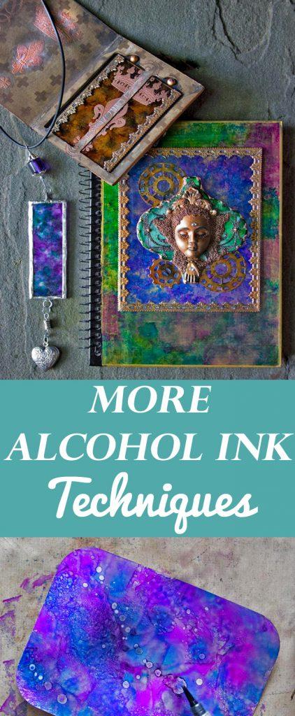 More Alcohol Ink Techniques