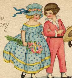 Vintage Birthday Card Image!