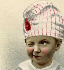 Cute Winking Boy Image!