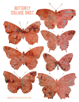 butterfly_collage_reds_graphicsfairy