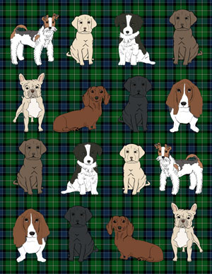 dogs_mini_wrapping_plaid_green_graphicsfairy