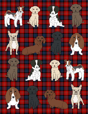 dogs_mini_wrapping_plaid_red_graphicsfairy