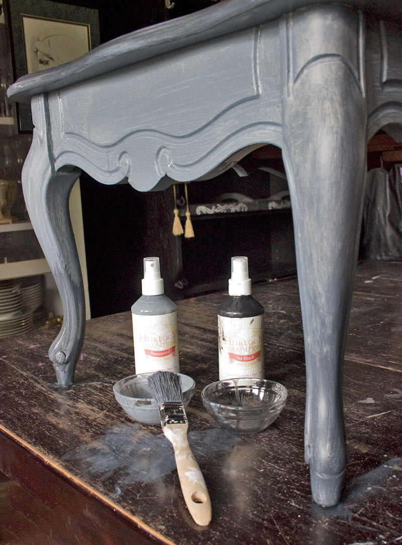 06 Weathered-Furniture-Finish-Thicketworks-for-Heirloom-Traditions-Paint-at-The-Graphics-Fairy-Blend-Waxes