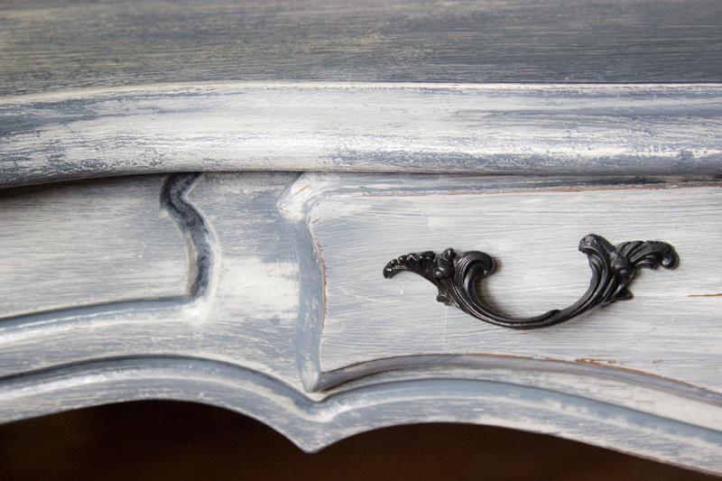 11 Weathered-Furniture-Finish-Thicketworks-for-Heirloom-Traditions-Paint-at-The-Graphics-Fairy-Drawer-Front