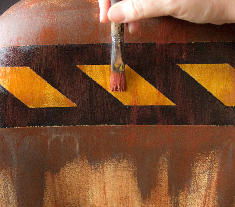 14 How-to-Paint-Vinyl-Upholstery-Thicketworks-for-HTP-at-The-Graphics-Fairy-Add-Rust