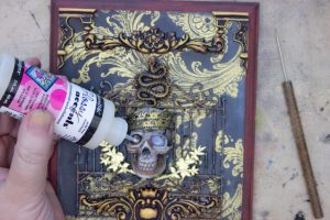 39 Memento-Mori-Plaque-Thicketworks-Altered-Art-Fill-Sockets-with-Glossy-Accents