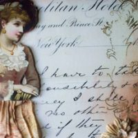 Create a Mixed Media Doll Canvas-thumbnail