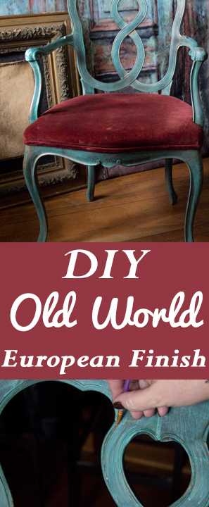 DIY Old World European Finish-