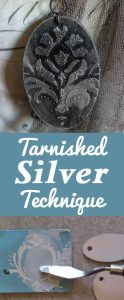 Tarnished Silver Technique