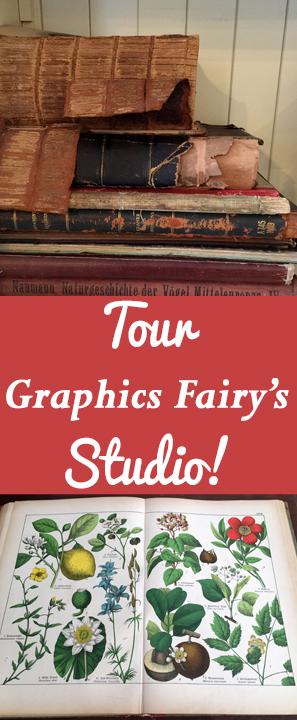 Tour The Graphics Fairy Studio