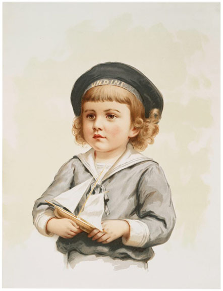 12 Vintage Sailor Boy Images In Color The Graphics Fairy