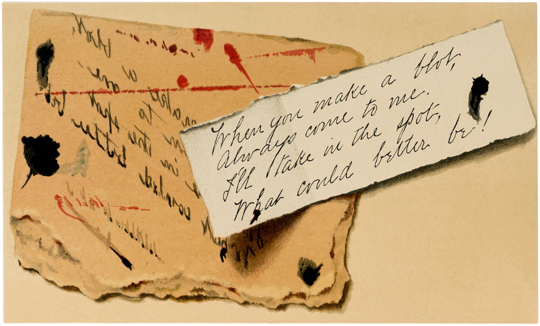Vintage Scrap Note Image