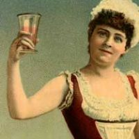 Vintage-Woman-Toasting-thm-GraphicsFairy