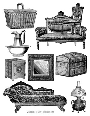 collage_sheet_furniture_graphicsfairy