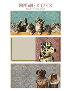 dogs_cats_3x3_cards_graphicsfairy
