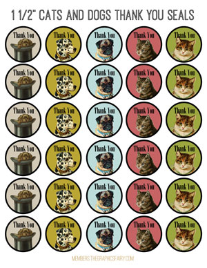 dogs_cats_thank_labels_graphicsfairy