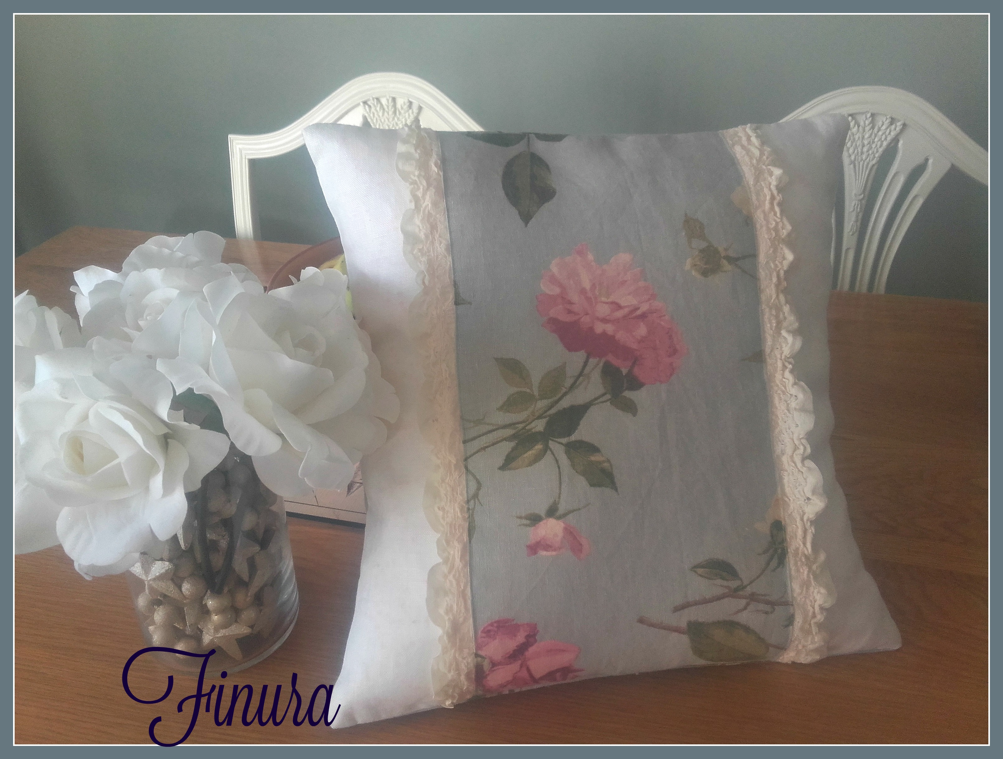 Shabby chic french cushion reader feature the graphics for Shabby chic instagram