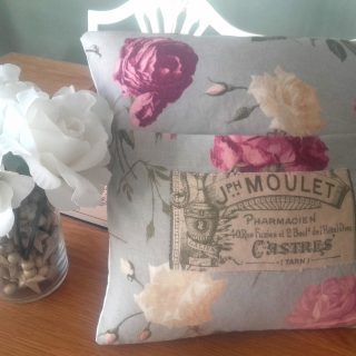 Shabby Chic French Cushion – Reader Feature