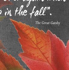 Free Fall Printable Quote + Fall Ideas Tour!