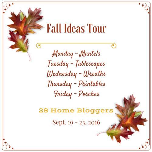 Fall Ideas Tour
