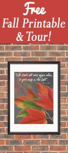 Free Fall Printable