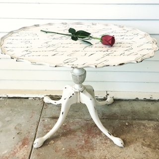 French Inspired Piecrust Table – Reader Feature