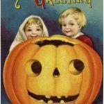 Vintage Halloween Pumpkin Kids