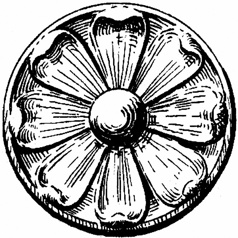 Vintage Round Ornamental Design