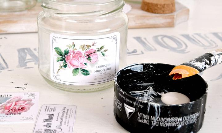 DIY Vintage Apothecary Jar Labels!