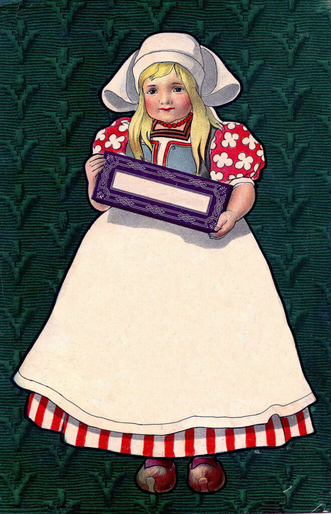 Dutch Girl Sign Image