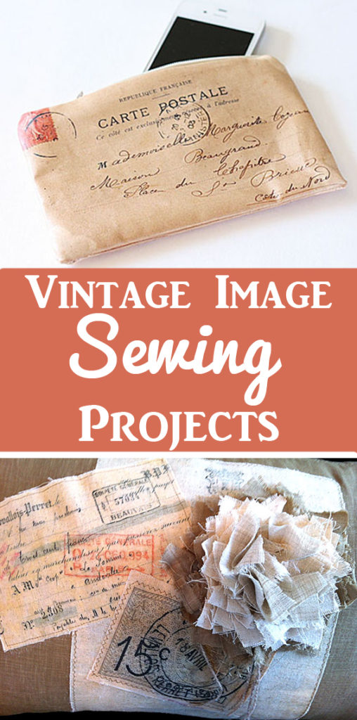 DIY Vintage Image Sewing Projects