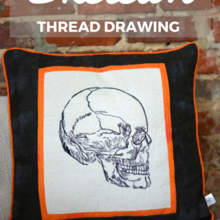 Skeleton Pillow – Reader Feature