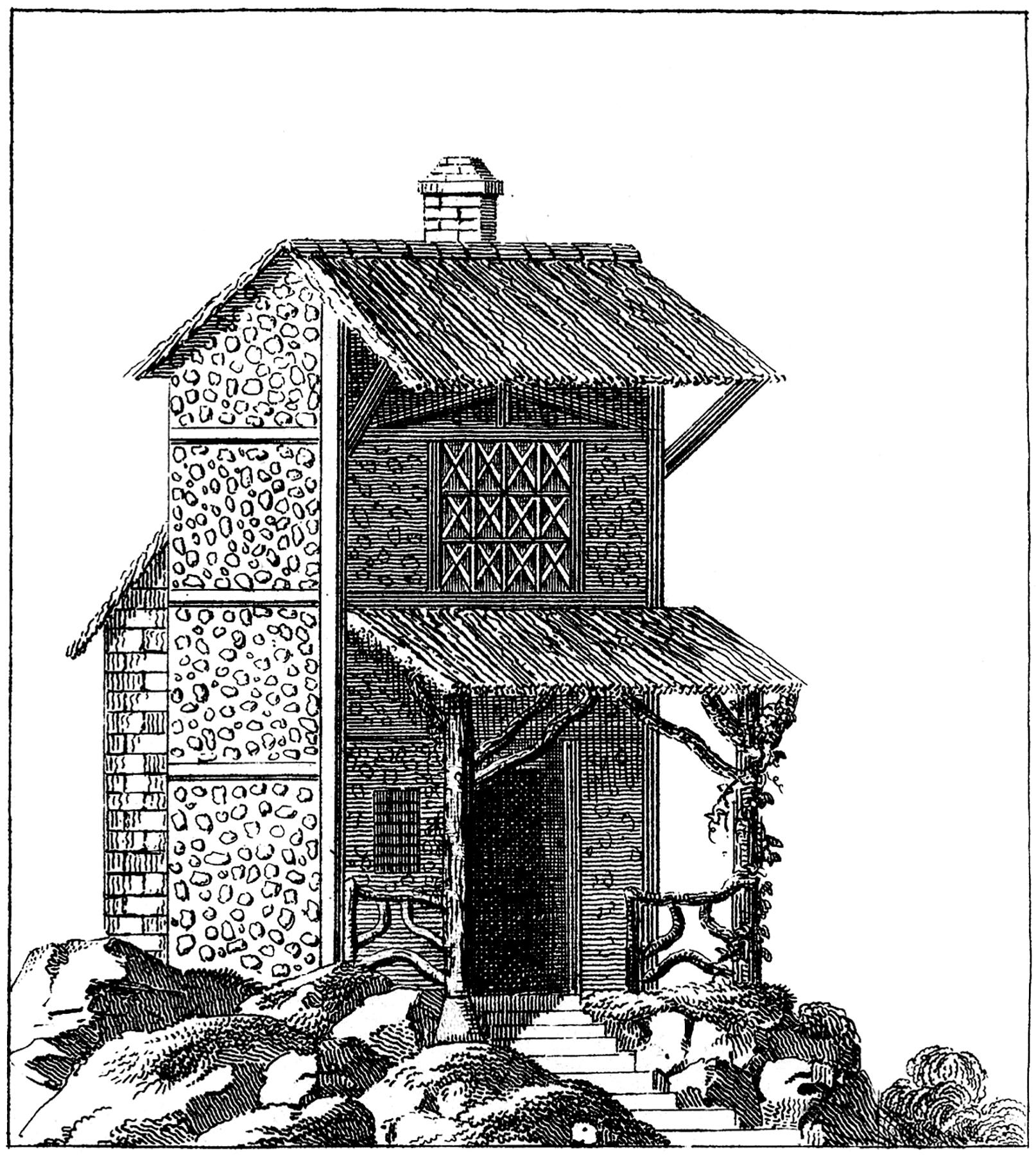 Vintage French Barn Image