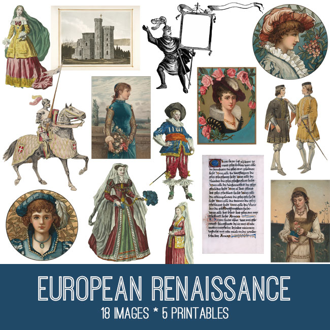 European Renaissance Image Kit