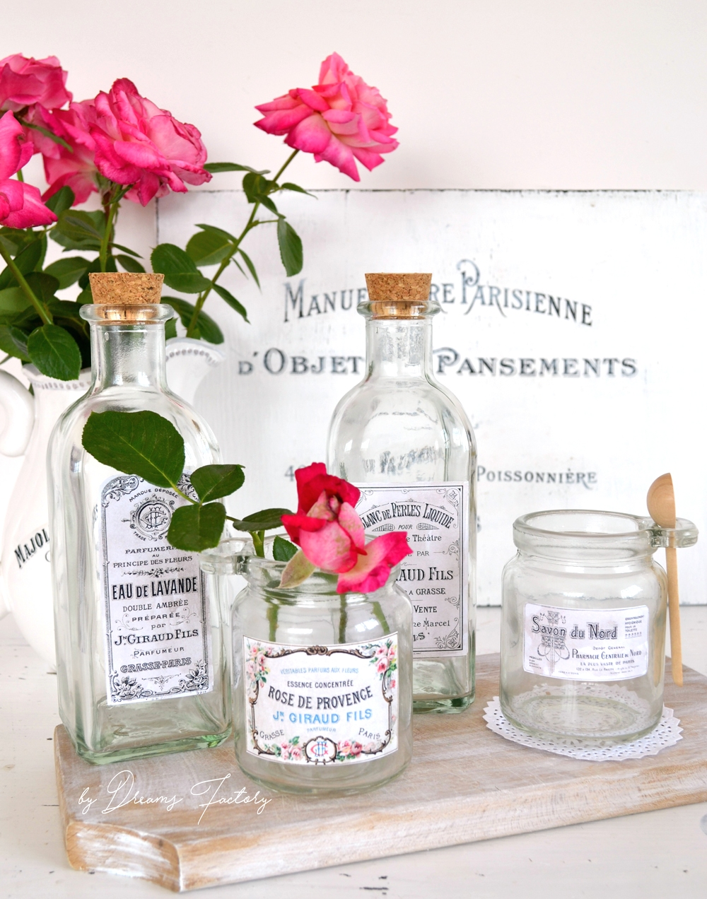 Vintage Apothecary Jar Labels