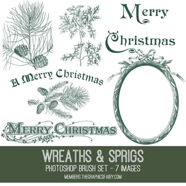 xmas_sprigs_brushes_graphicsfairy