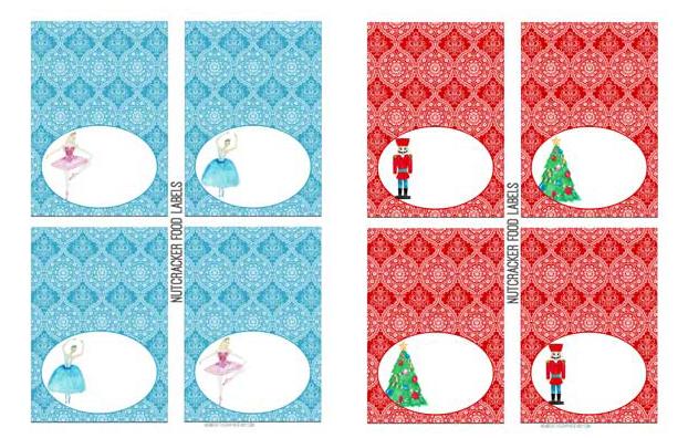 Holiday Nutcracker Printable