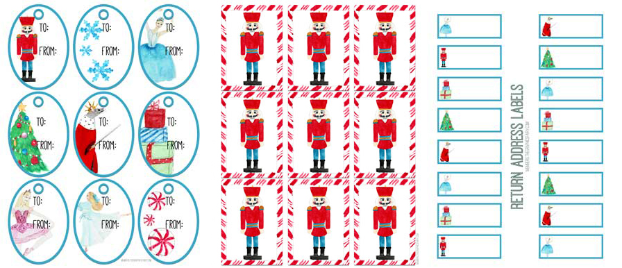 Nutcracker Printable