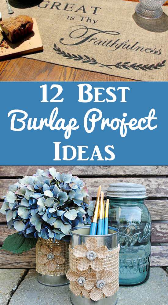 Best Burlap Project Ideas