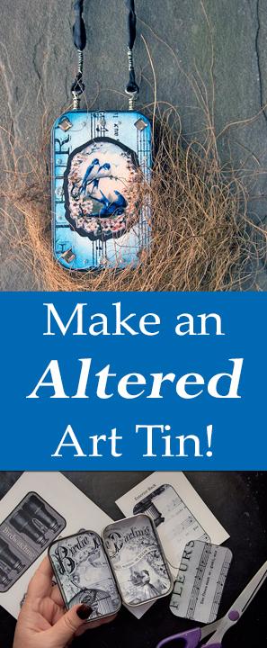 Make an Altered Art Tin
